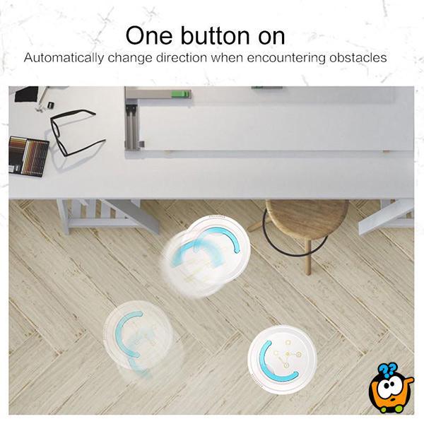 Robot usisivač za glatke podove