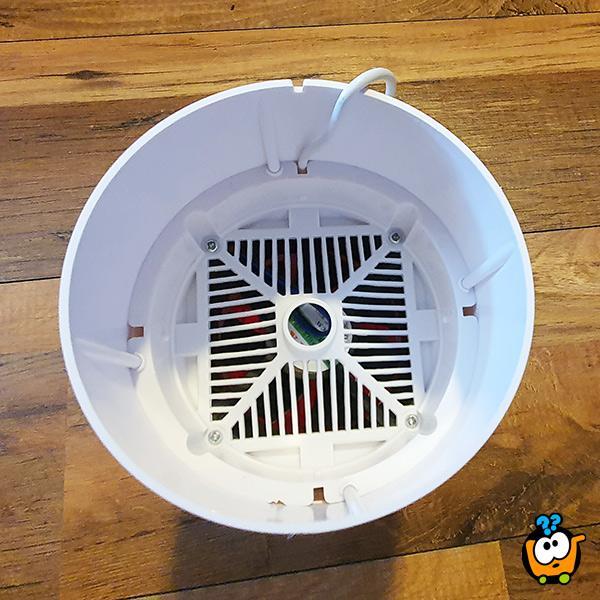 USB LED Killer mosquito - Beli Eliminator komaraca sa ventilatorom
