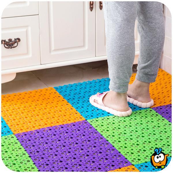 Neklizajući masažni pod za kupatilo, tuš kabinu, kuhinju