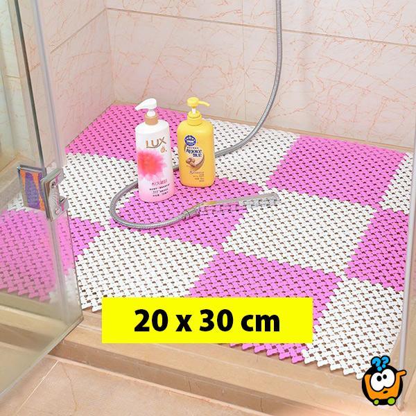 Neklizajući masažni pod za kupatilo, tuš kabinu, kuhinju 20x30 cm