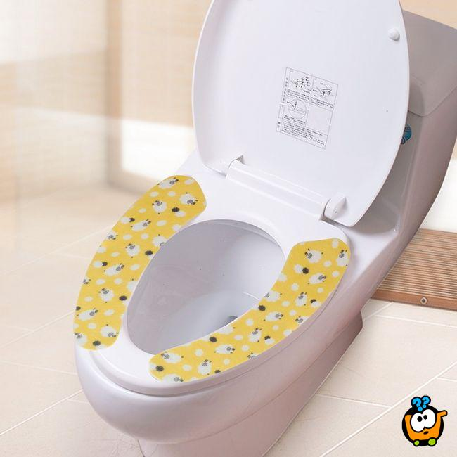 Soft Toilet Stickers - topli stikeri za dasku WC šolje