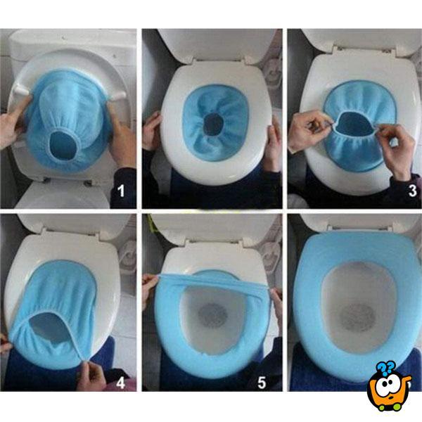 Topla navlaka za dasku WC šolje