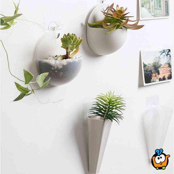 Elegantna viseća vaza za cveće
