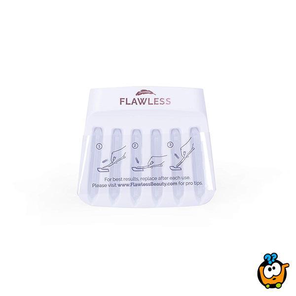Flawless dermaplane - 2 u 1 štapić sa LED svetlom za uklanjanje dlačica i piling