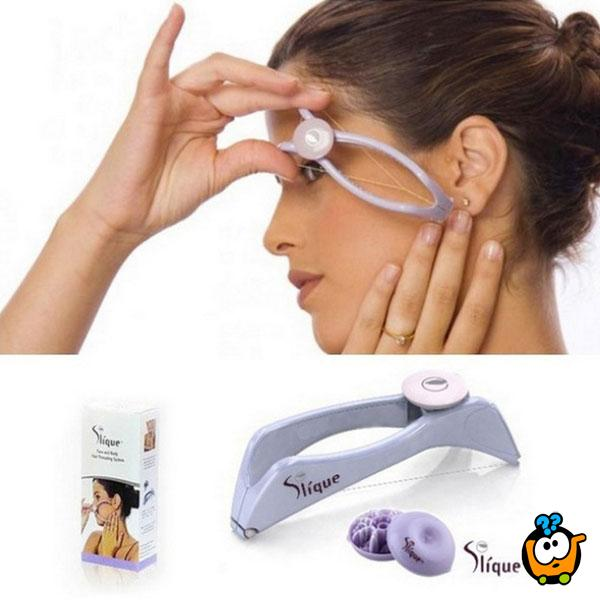 Slique - Sprava za uklanjanje dlačica sa lica i tela