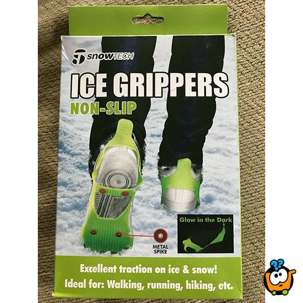 Ice grippers - Podloga za obuću protiv klizanja na snegu i ledu