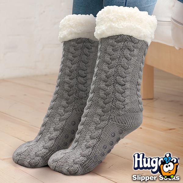 Huggle slippers - meke kućne čarape-patofne za topla stopala