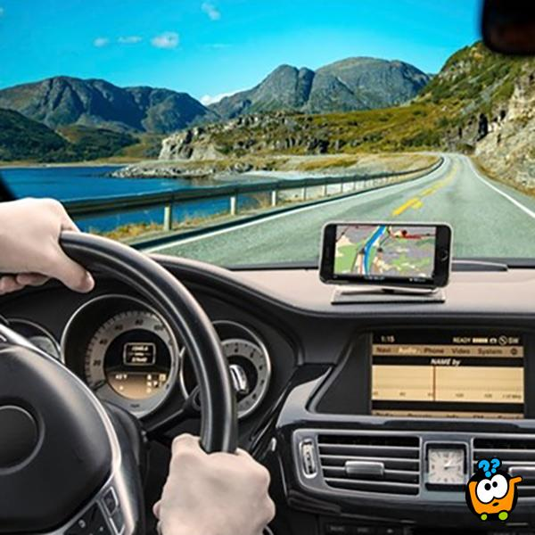 EZ-Way GPS - Držac GPS uređaja i telefona u automobilu