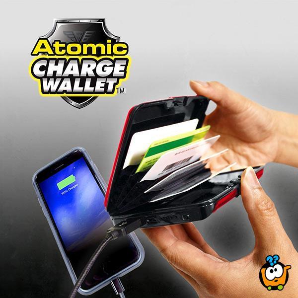 Security & Power Bank Wallet – 2 u 1 novčanik za kartice i punjač za telefon