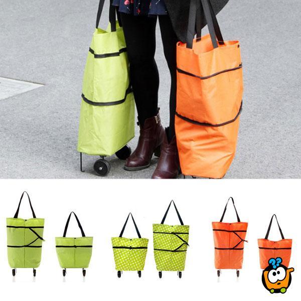 Velika torba na 2 nivoa za kupovinu