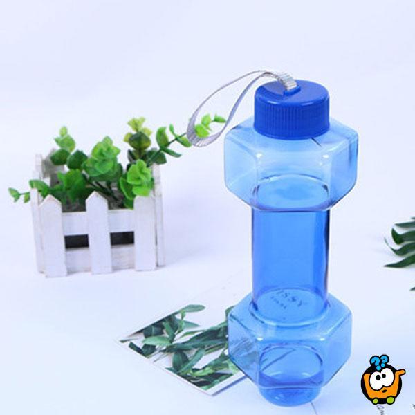 2 u 1 Flašica za vodu u obliku tega