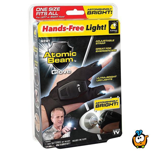 Svetleći Prsti - Atomic Beam rukavica i lampa