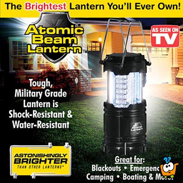 Atomic Bean fenjer - Ultra jako i mobilno osvetljenje