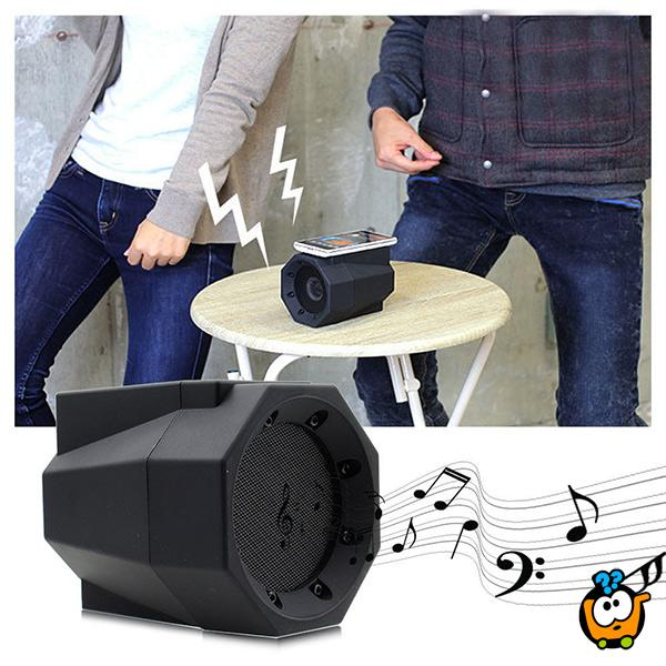 BoomTouch wireless zvučnik - Emitovanje zvuka sa telefona njegovim prislanjanjem