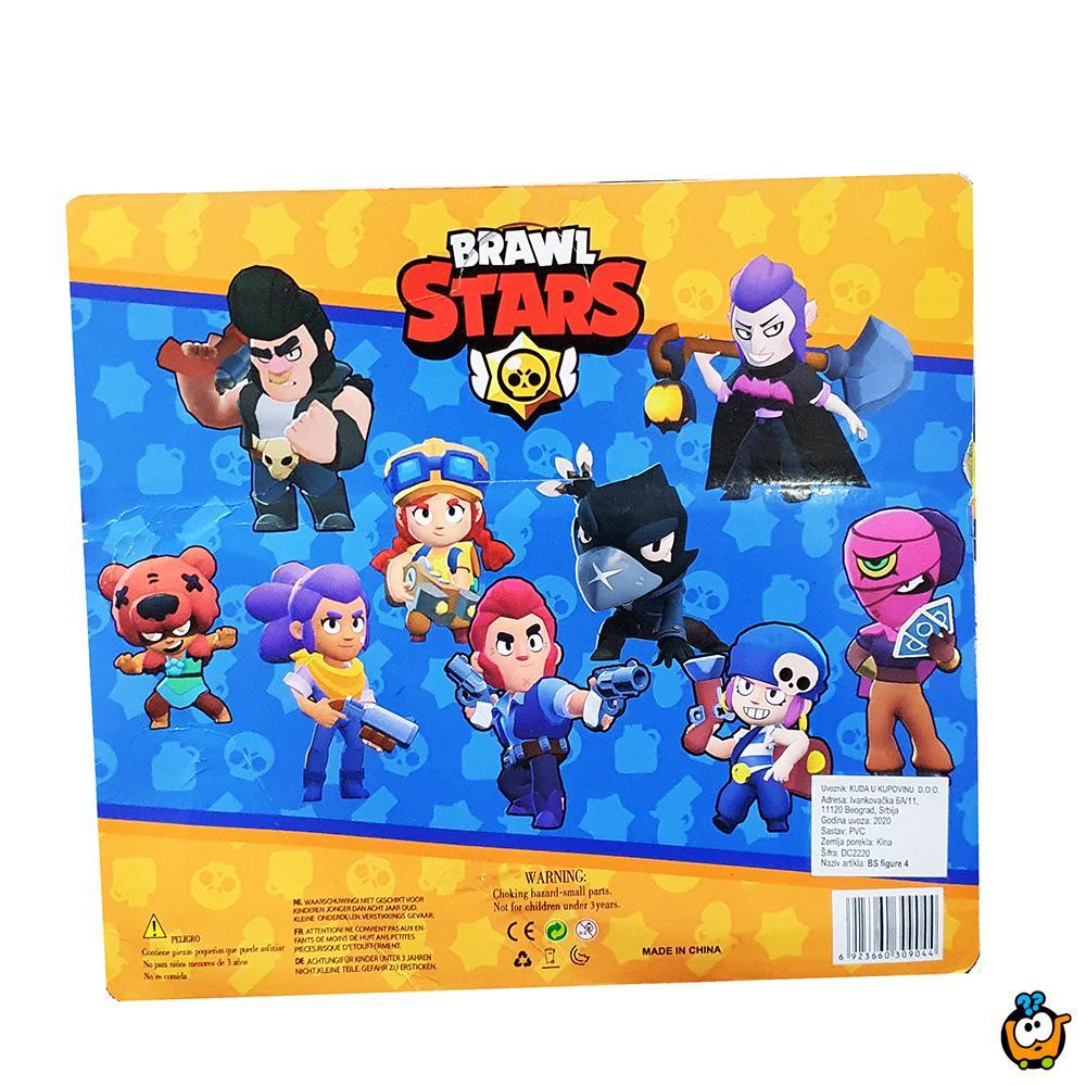 Brawl Stars 1 - Set od 4 figurice