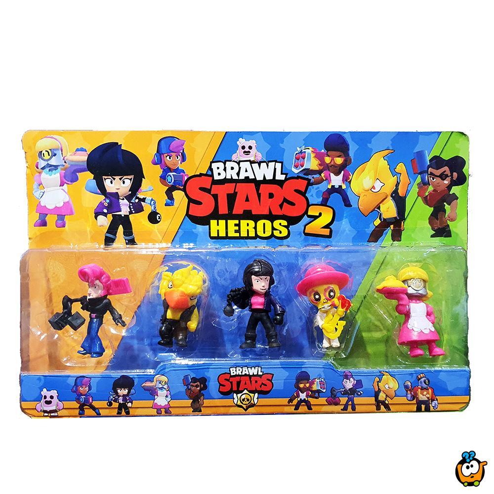 Brawl Stars 2 - Set od 5 figurica
