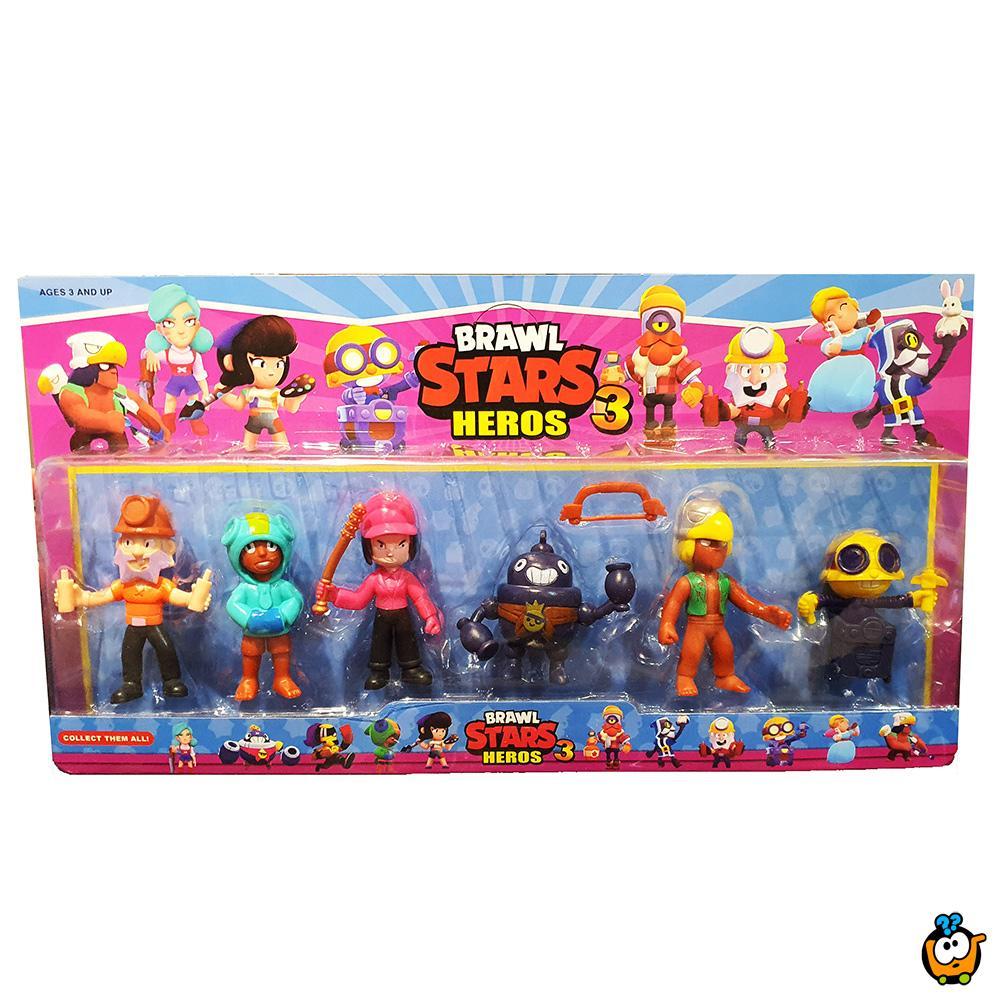Brawl Stars 3 - Set od 6 figurica