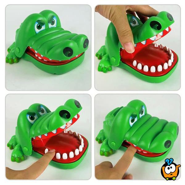 Igra za decu CrocoDile Dentist - Koji zub boli malog krokodila