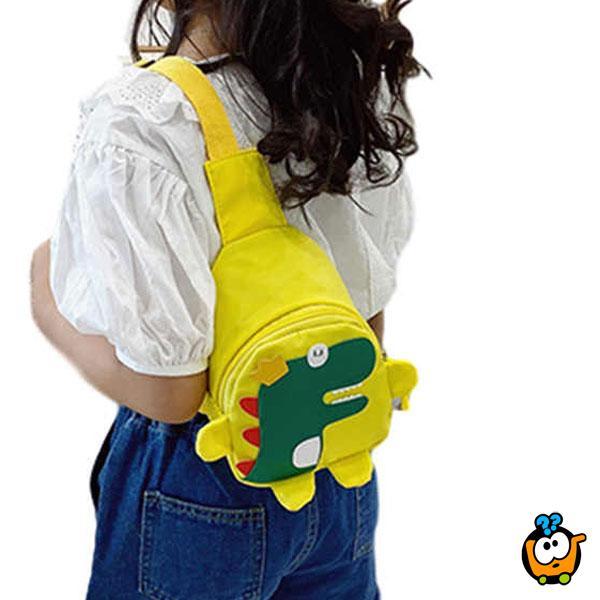 Dino backpack – Dečiji dino ranac na jedno rame
