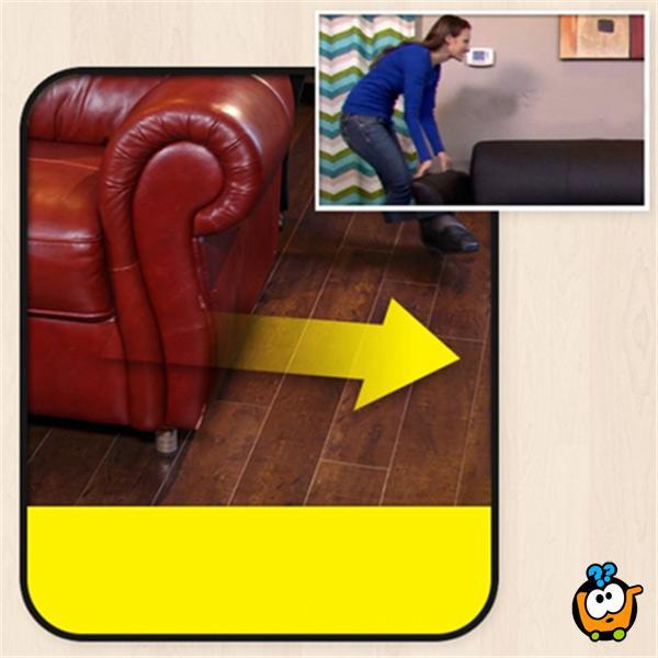 Furniture Feet - Prilagodljivi nastavak za nogare za zaštitu podova