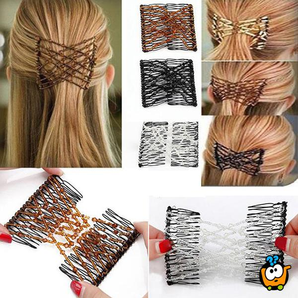 Magic hair set - 2 elegantne šnale za kosu