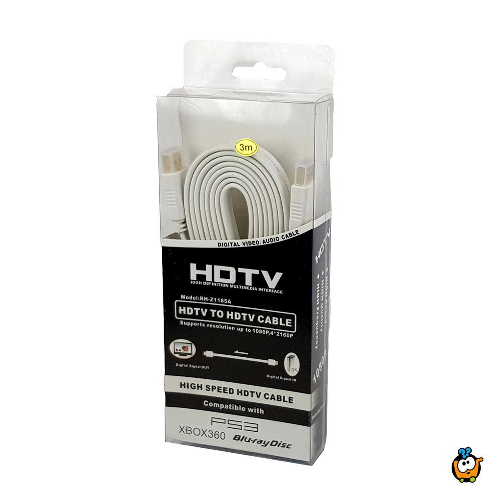 HDMI kabl dužine 3m za prenos digitalnih audio i video formata