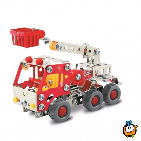 Konstruktivni set vatrogasni kamion 169 delova
