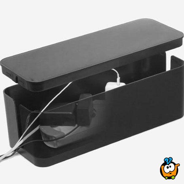 Mini Cable Box - Mini kutija za prikrivanje kablova
