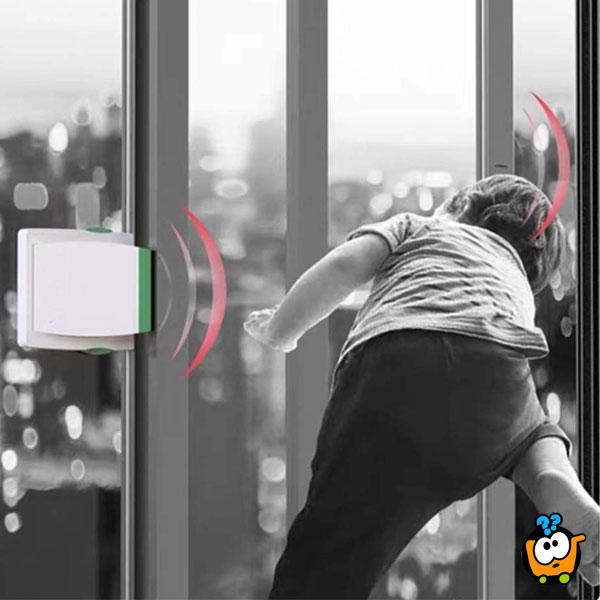 Sigurnosna brava za klizna vrata