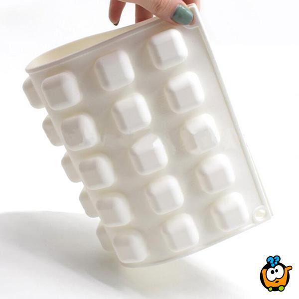 Micro Gem - 3D silikonska modla za sitne kolače i kanapee