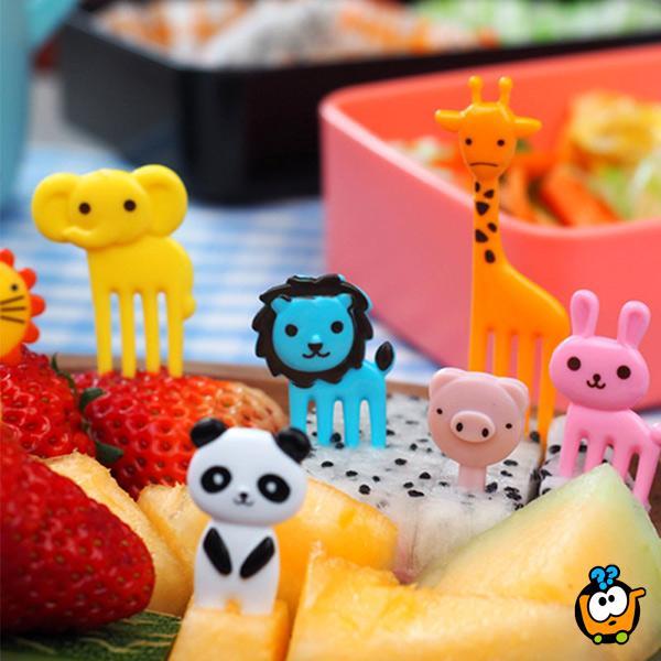 Mini viljuške za decu - Životinjsko carstvo