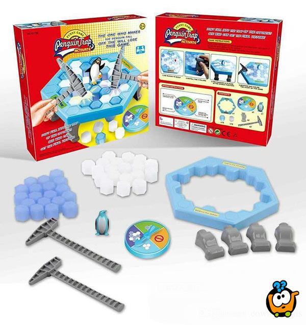 Društvena igra za decu Penguin Trap - Pingvin na opasnom ledu