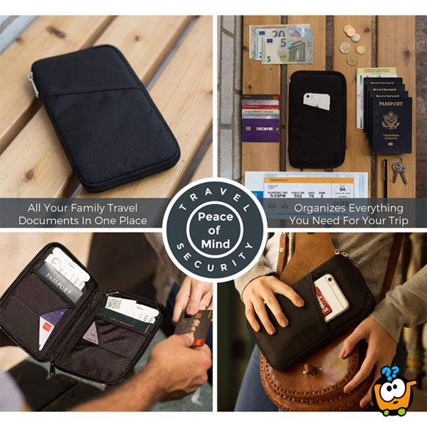 Travel Pack - Multifunkcionalni putni organizer za pasoš i dokumenta