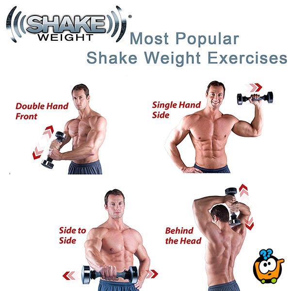 Shake Weight - Teg za oblikovanje gornjeg dela tela