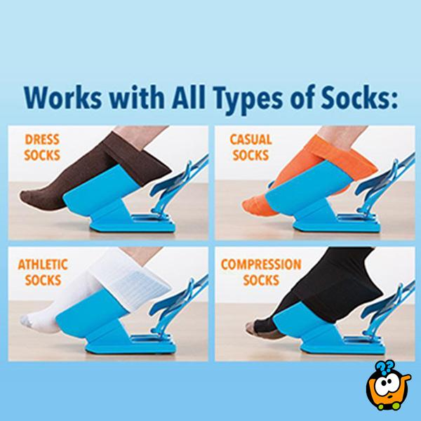 Sock slider - Magično pomagalo za obuvanje čarapa i obuće