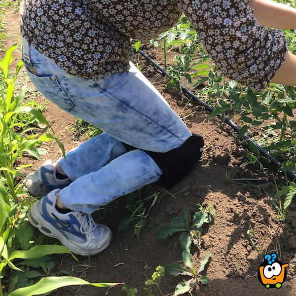 Štitnici za kolena za baštu