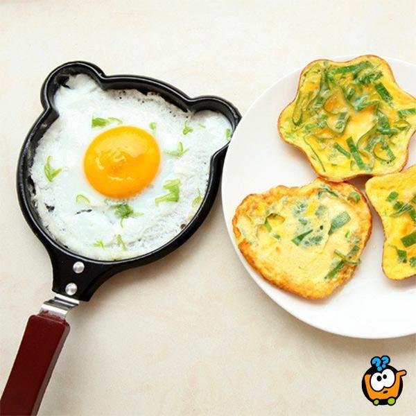 Tiganj za palačinke i jaja u najlepšim oblicima
