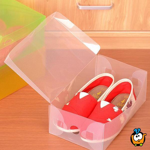 Transparent box - Kutija za skladištenje stvari