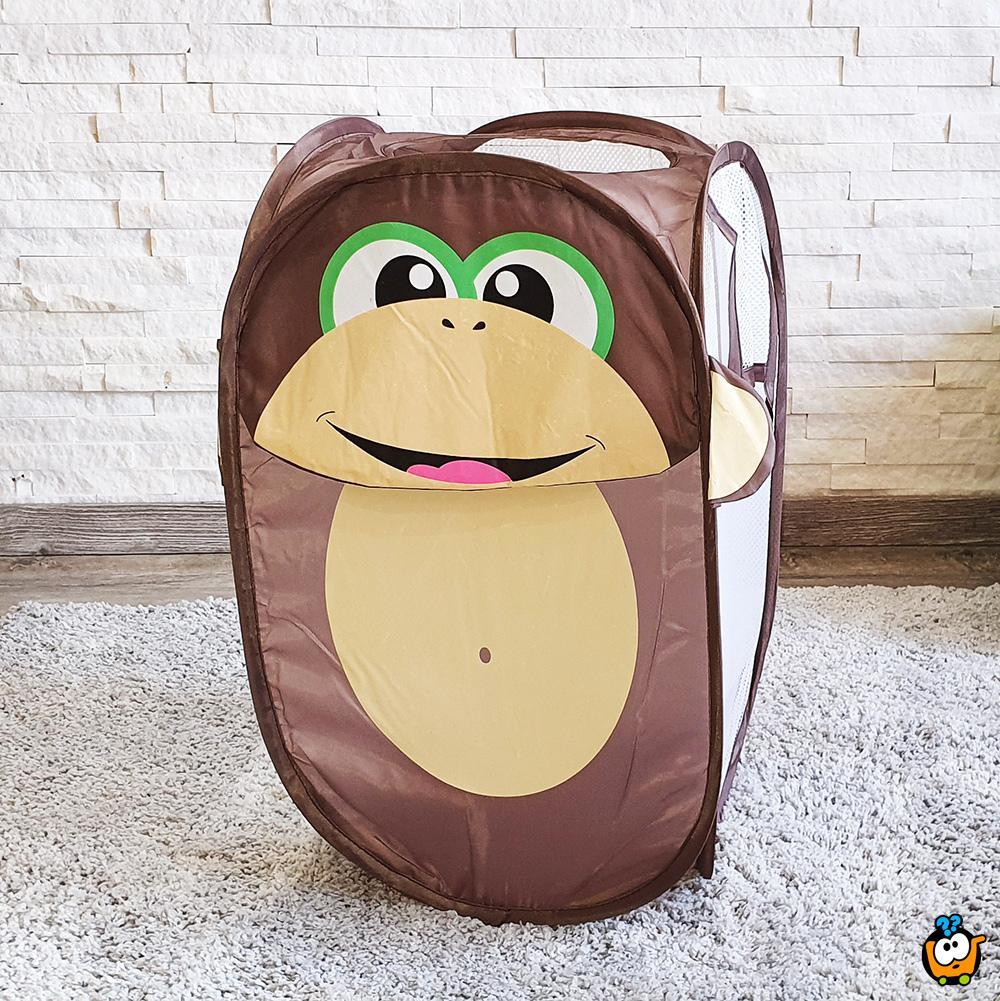 Animal toy bag - Sklopiva korpa za igračke u obliku Majmunčeta