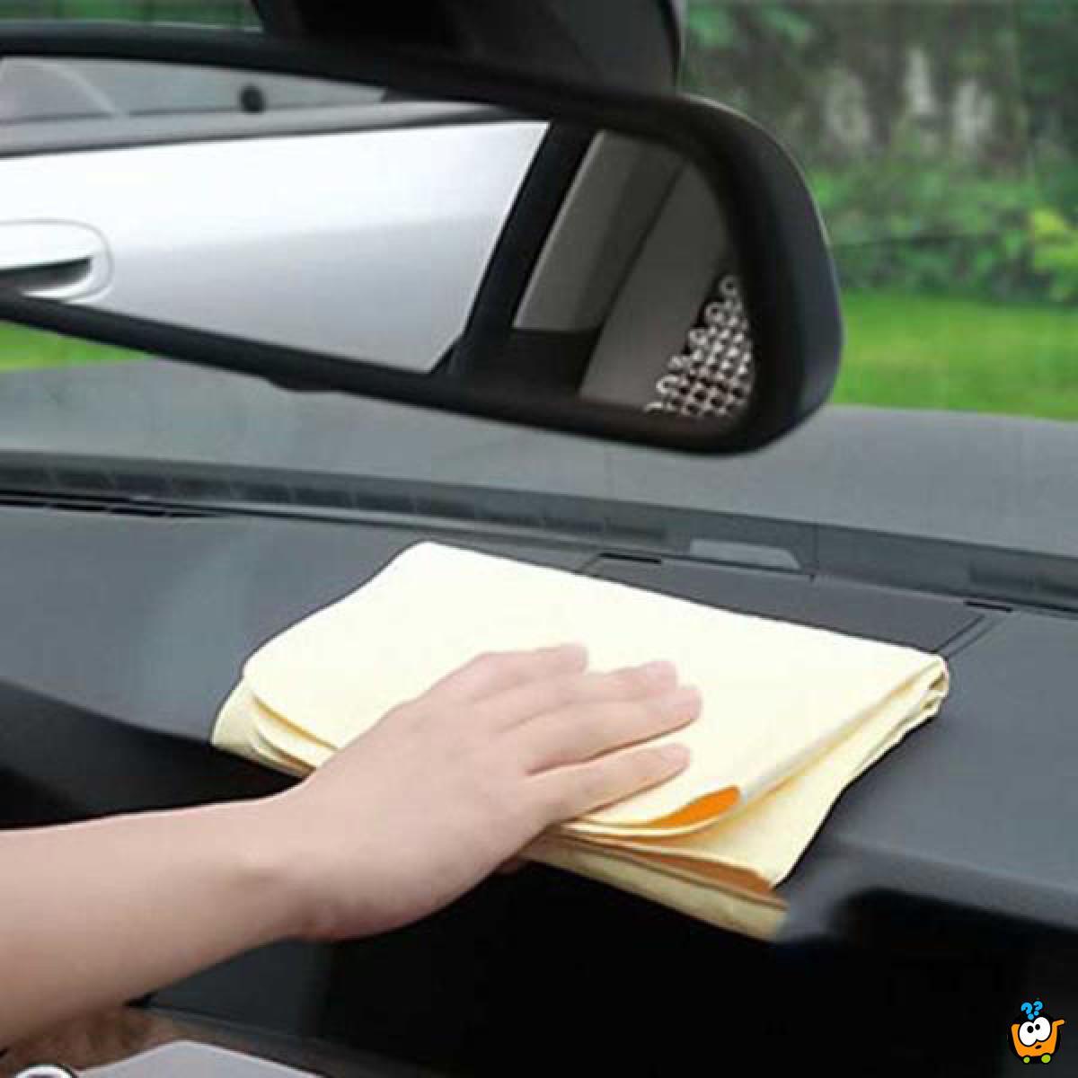 Car clean cham - Mikrofiber krpa za brisanje stakla i drugih površina