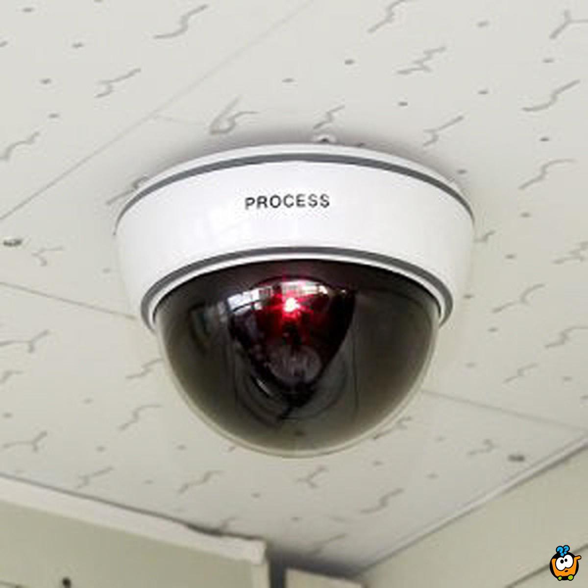 Okrugla lažna kamera za video nadzor