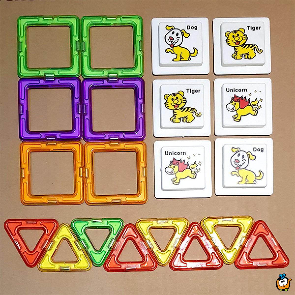 Magična magnetna 3D slagalica za decu
