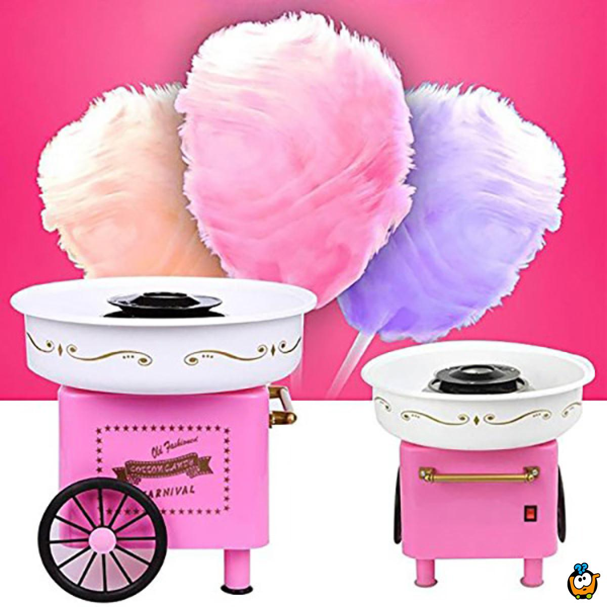 Cotton Candy Maker - Retro aparat za šećernu vunu