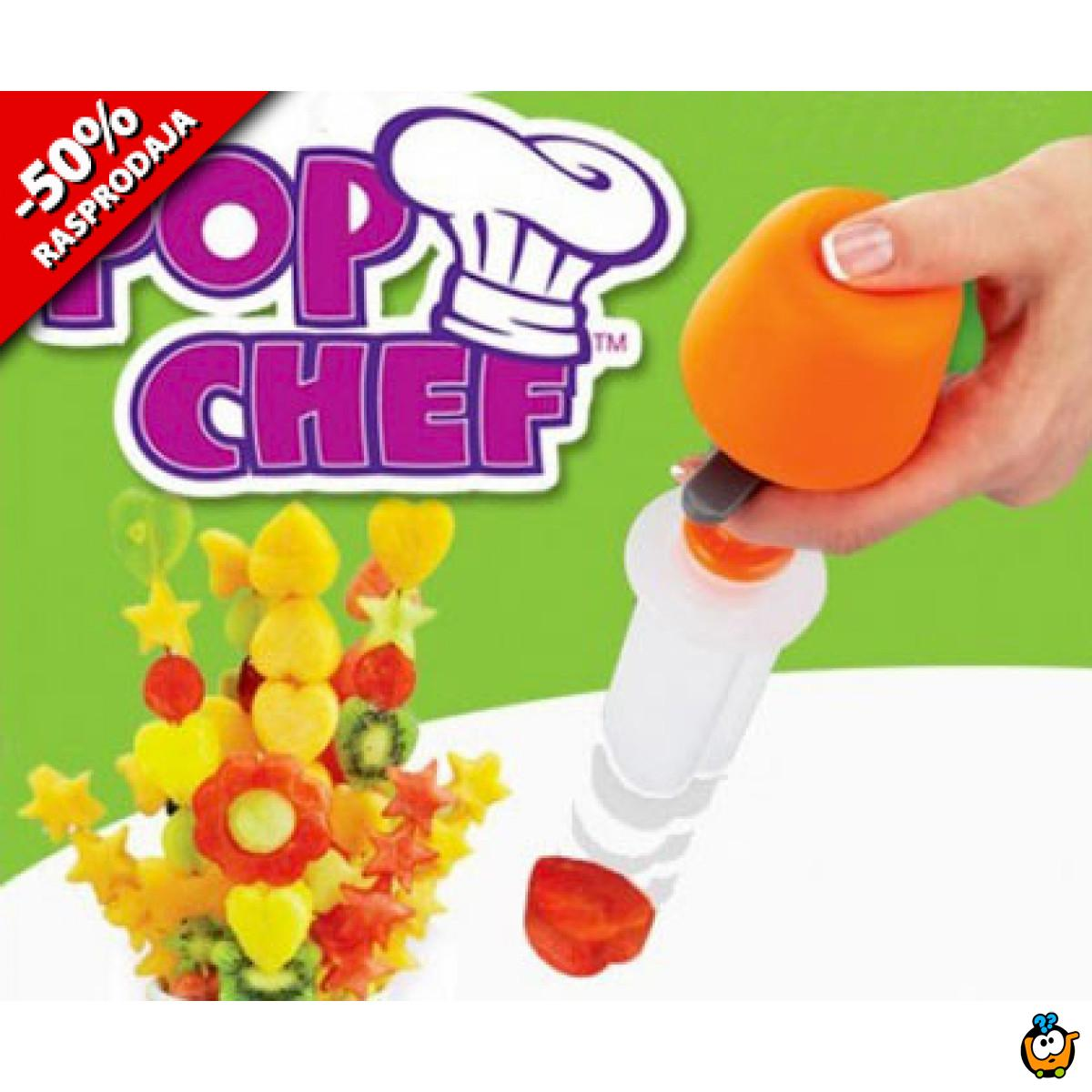 POP CHEF - Magičan set za aranžiranje voća i povrća
