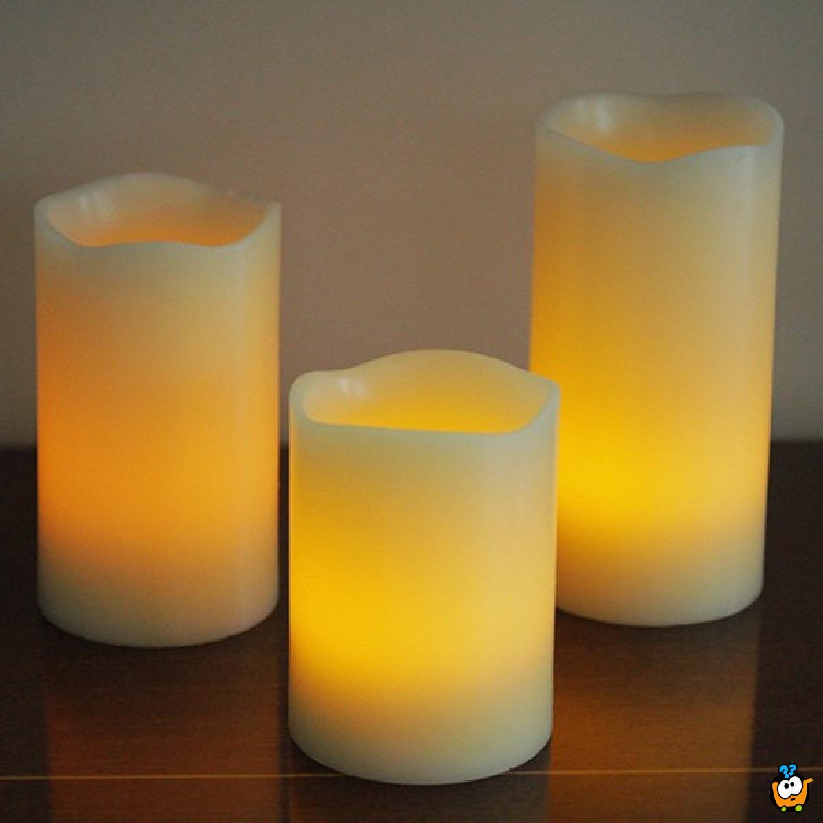 LED Luma sveće u najlepšim bojama