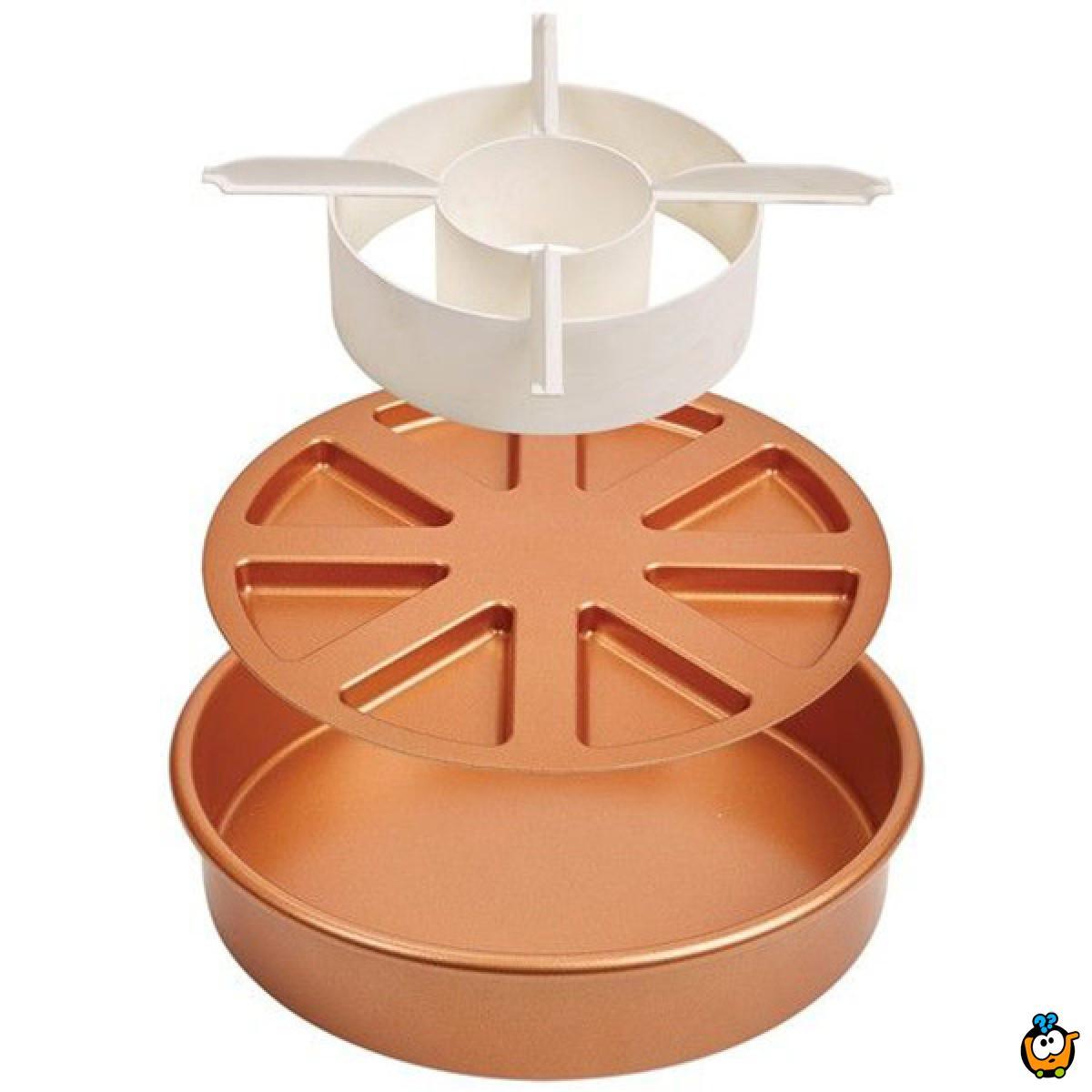 Copper Chef - trodelni set za pečenje, sečenje i kombinovanje patišpanja
