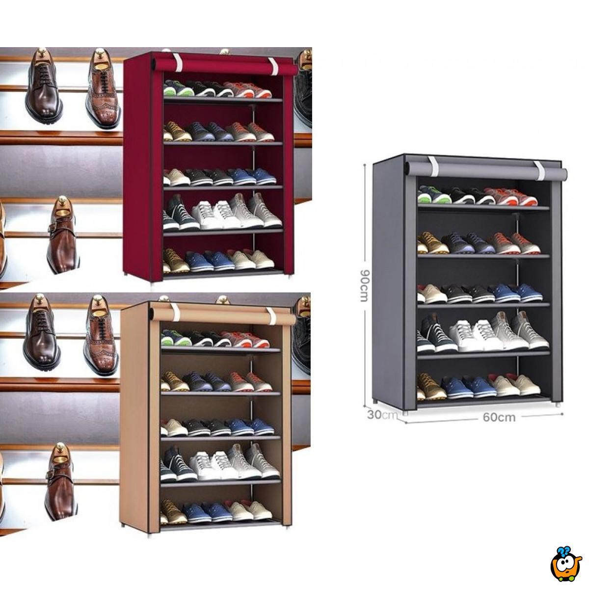 Platneni ormar za odlaganje obuće i garderobe