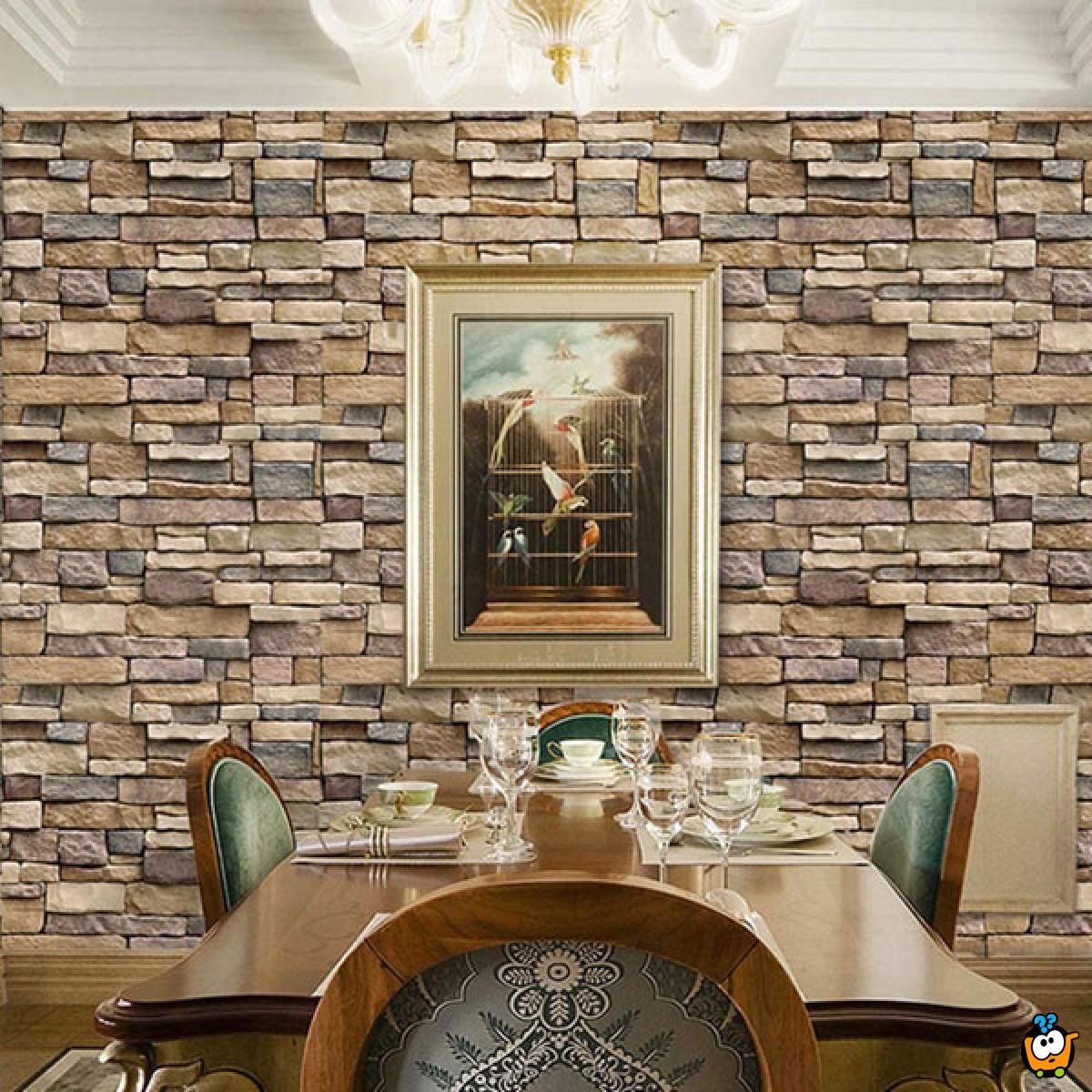 3D Wall sticker - Dekorativni stikeri za zid 33x33cm