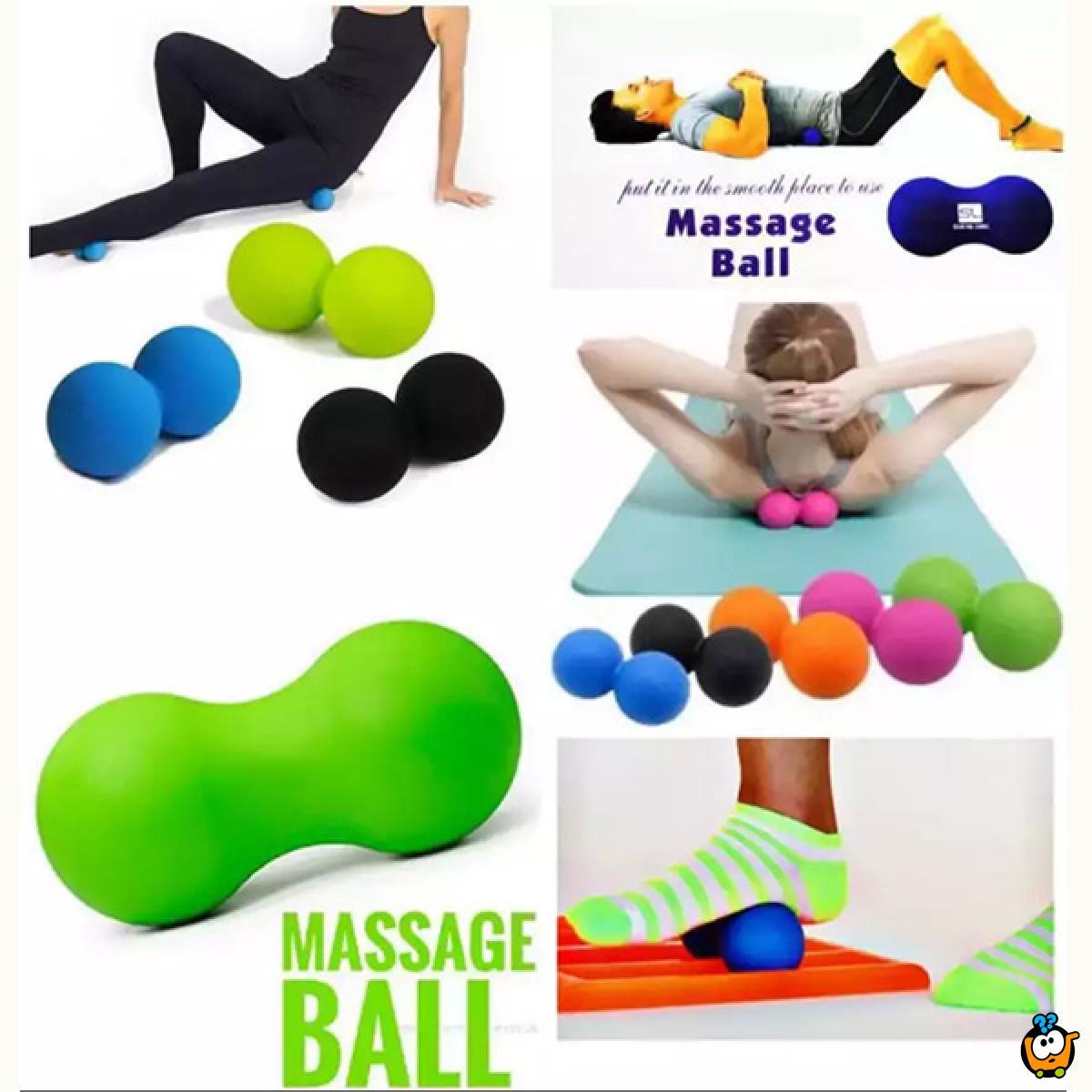 Massage ball - Dupla masažna loptica