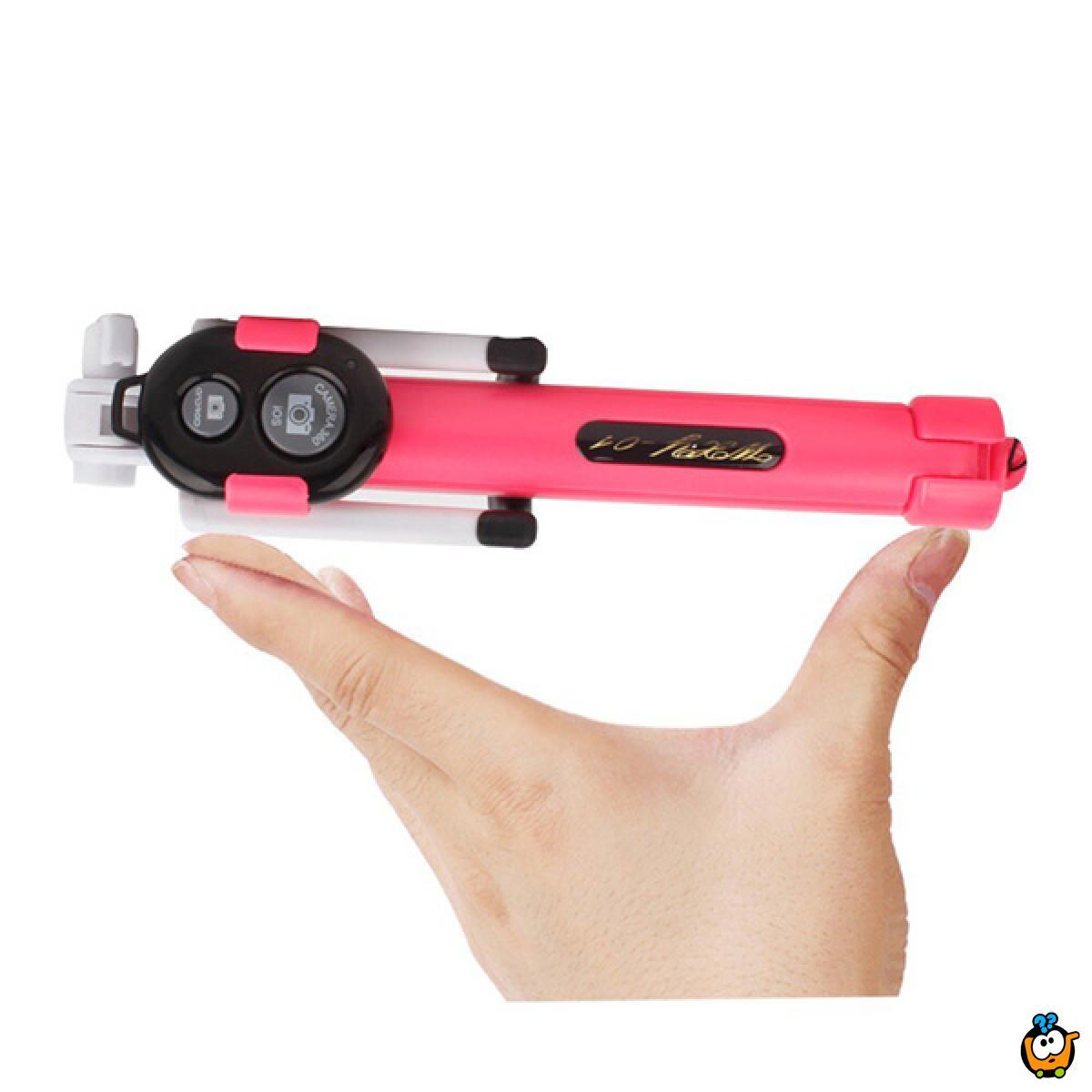 Bluetooth Selfie stick - 3u 1 štap za savršeni selfie